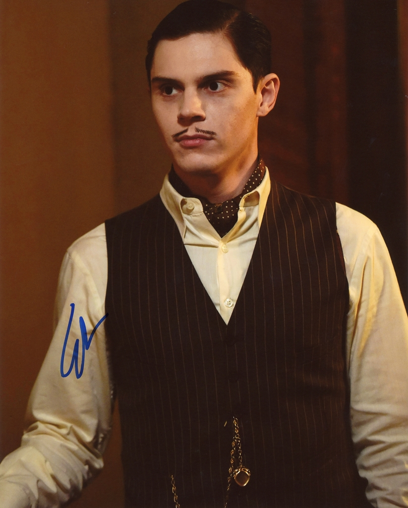Evan Peters Signed Photo