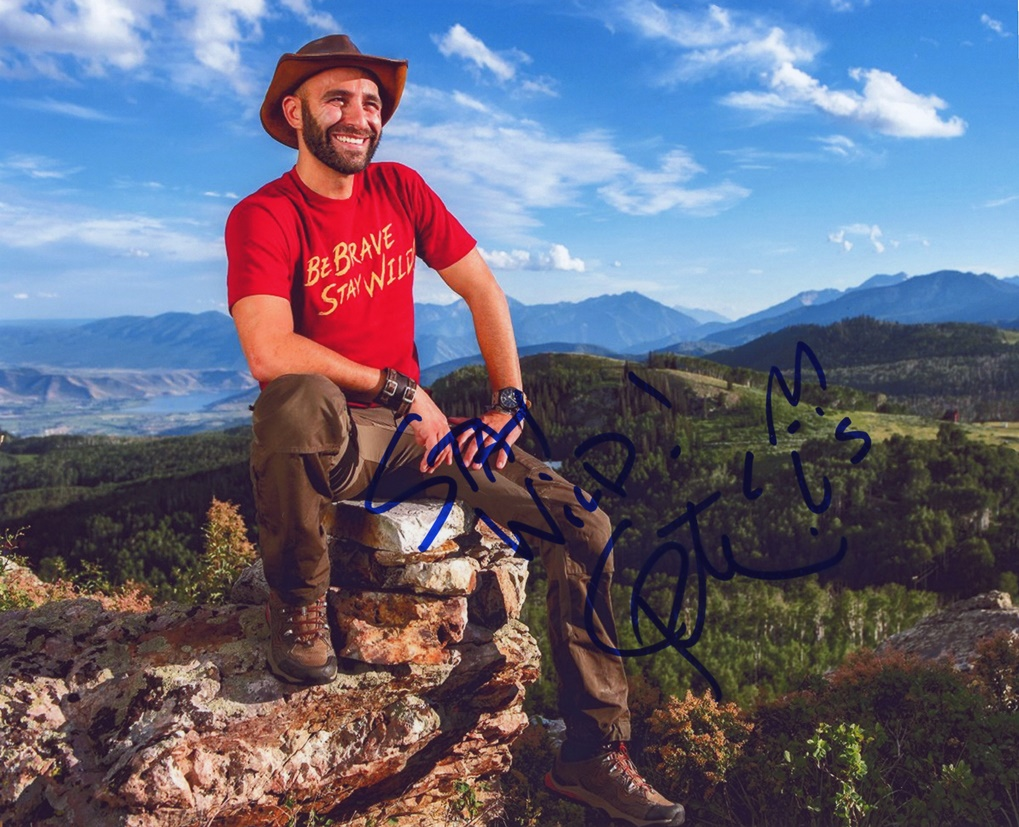 Coyote Peterson Signed Photo