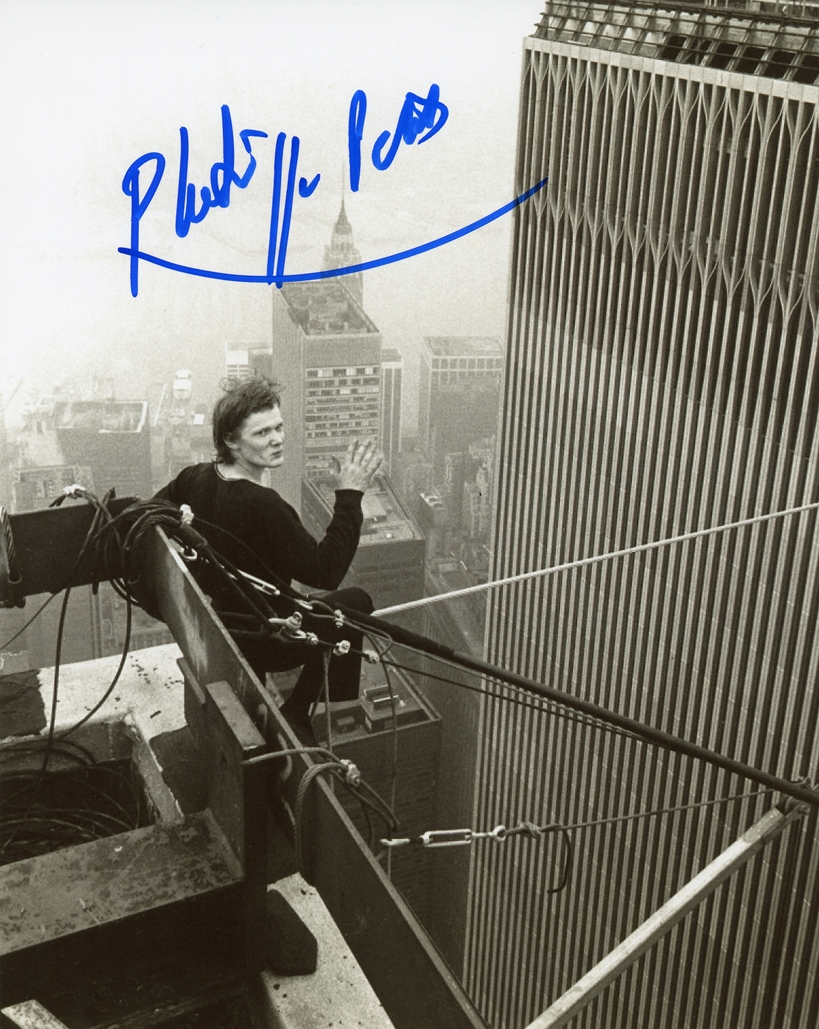 Philippe Petit papa rudy