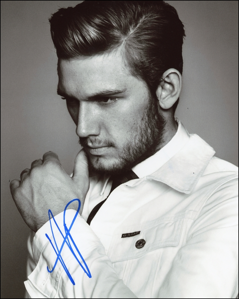 Alex Pettyfer Signed Photo