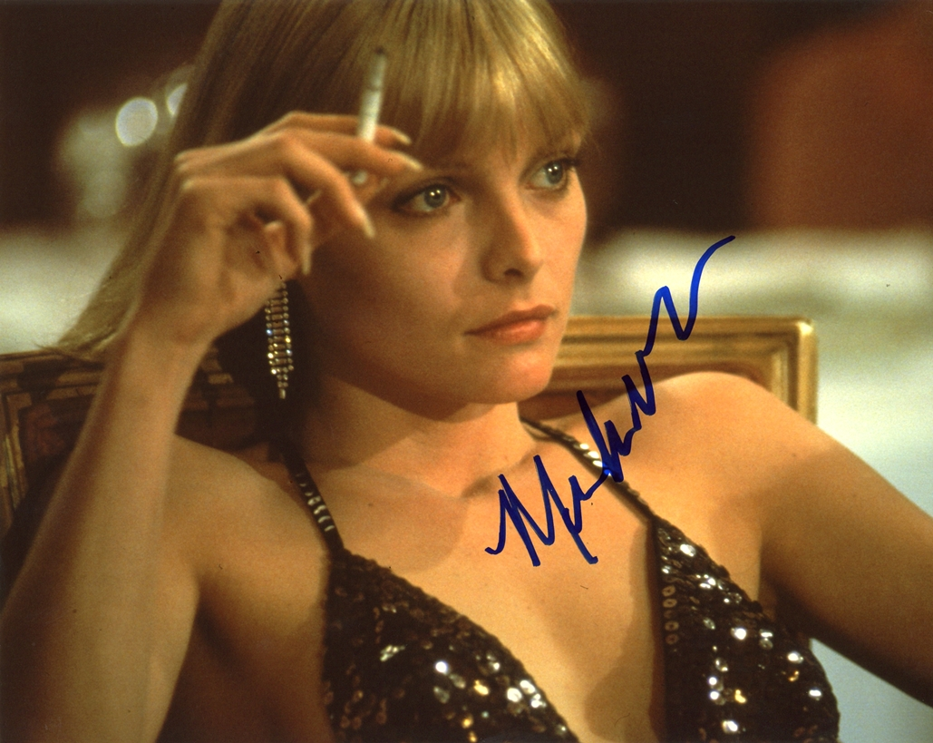 Michelle Pfeiffer Signed Photo