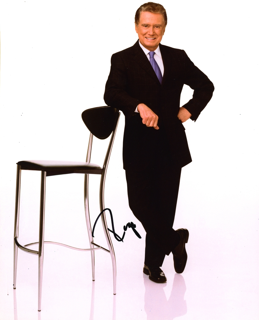 Regis Philbin Signed Photo