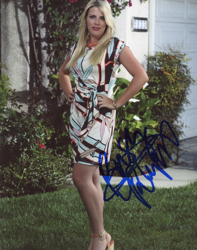 Busy Philipps Signed Photo