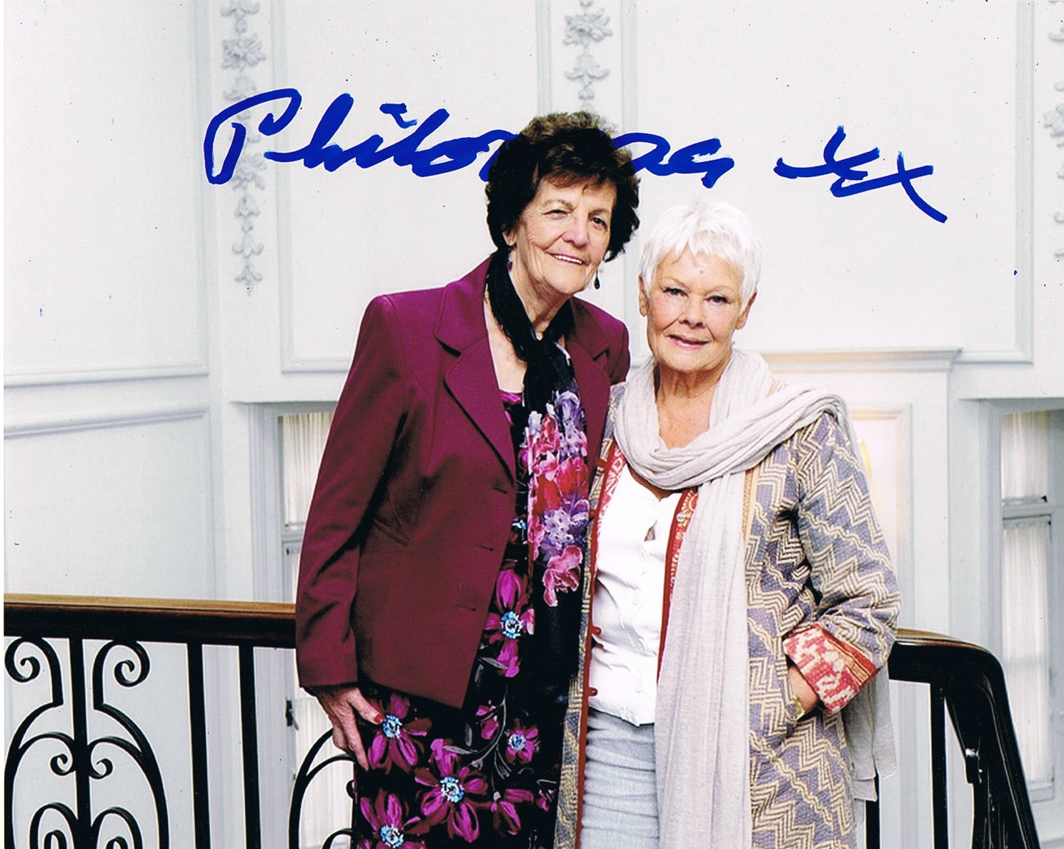 Philomena Lee Signed Photo
