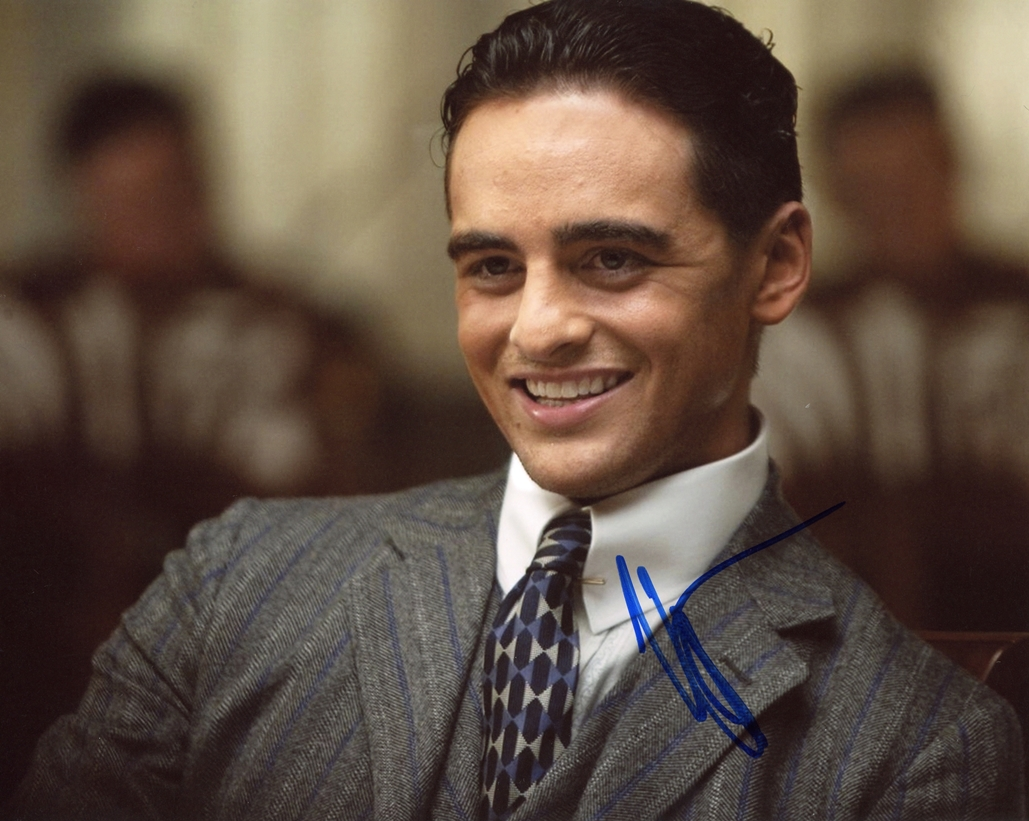 Vincent Piazza Signed Photo