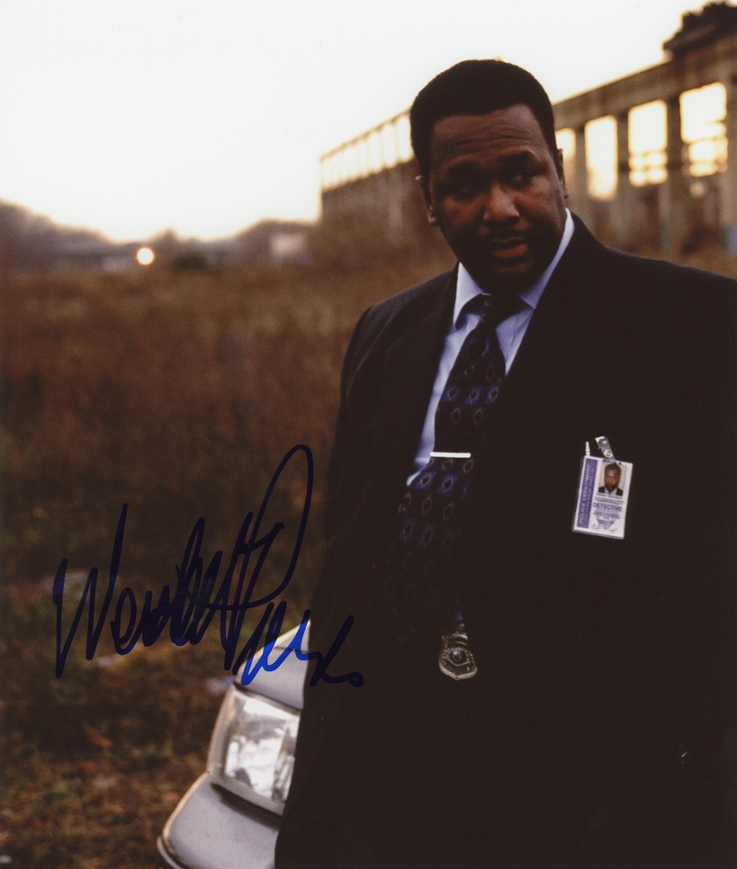 Wendell Pierce Signed Photo