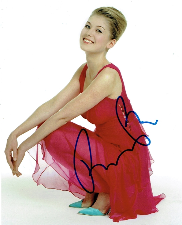Rosamund Pike Signed Photo