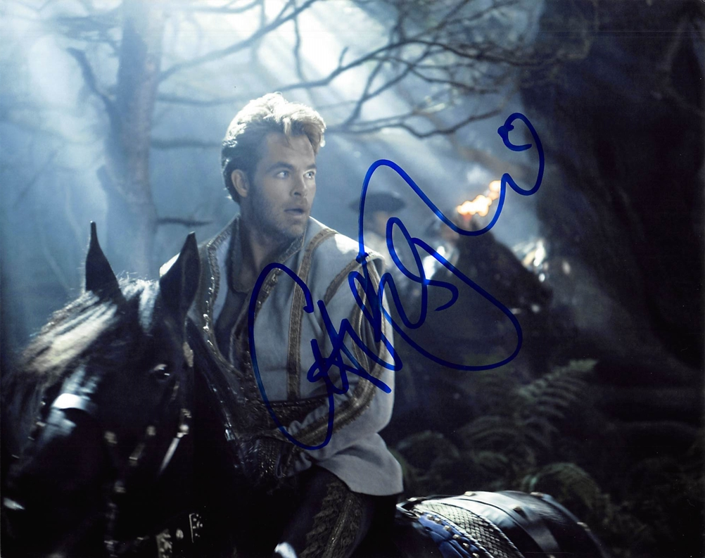 Chris Pine Signed Photo