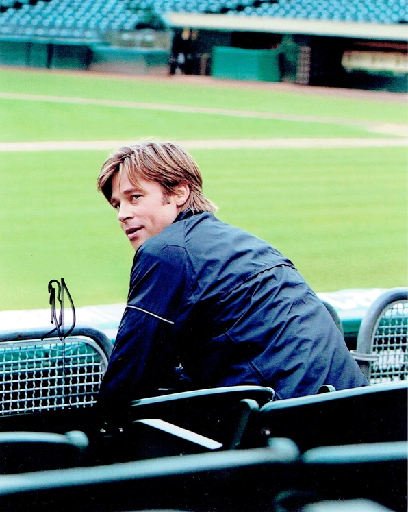 Brad Pitt Signed Photo