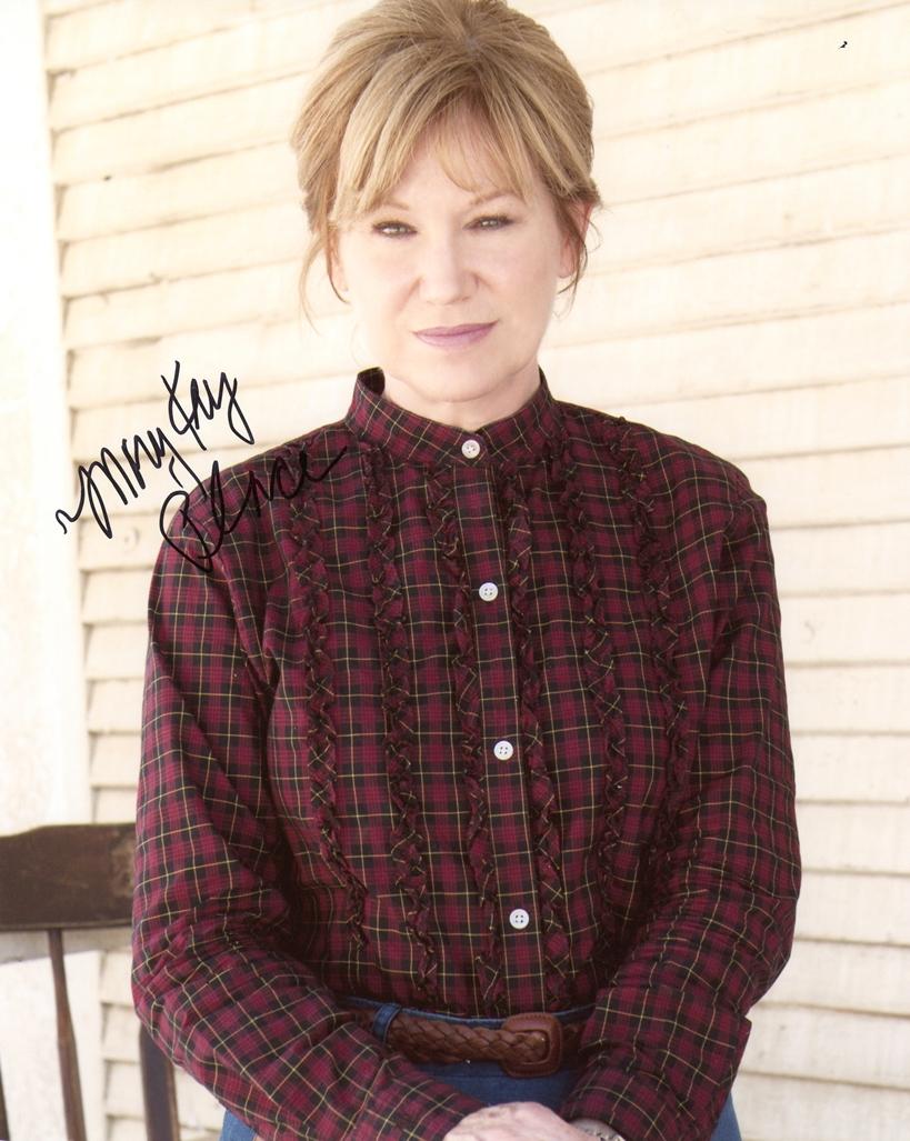 Mary Kay Place Signed Photo