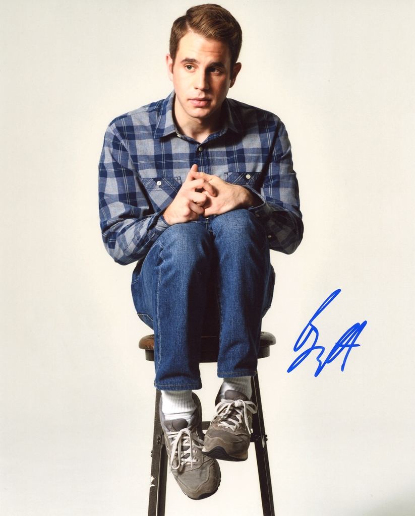 Ben Platt Signed Photo