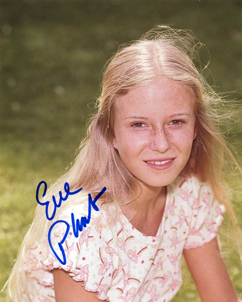 Eve Plumb Signed Photo
