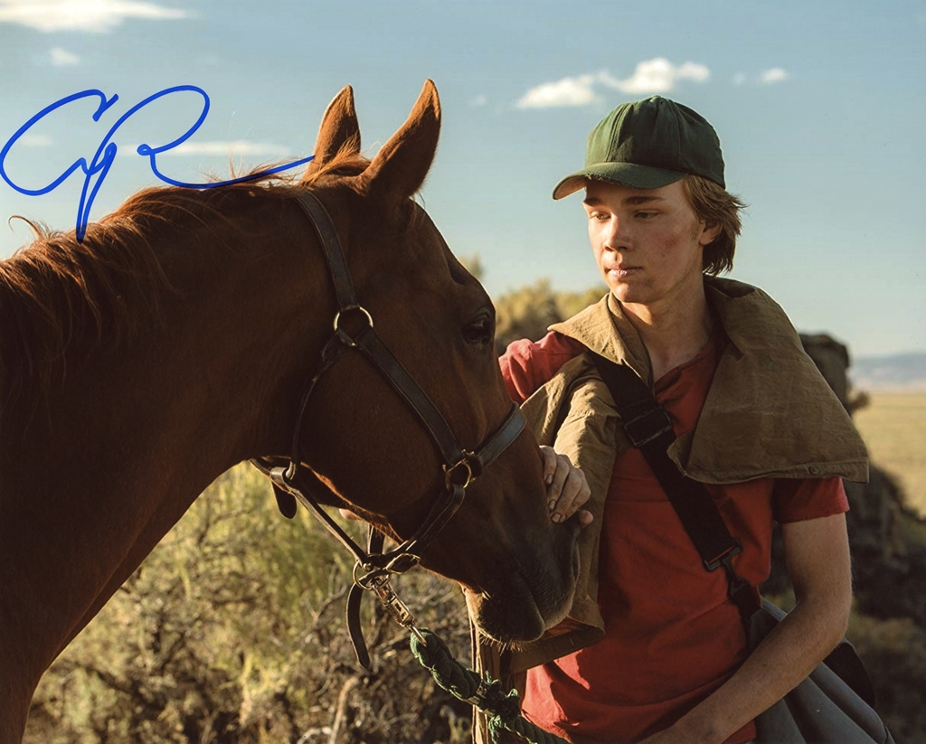Charlie Plummer Signed Photo