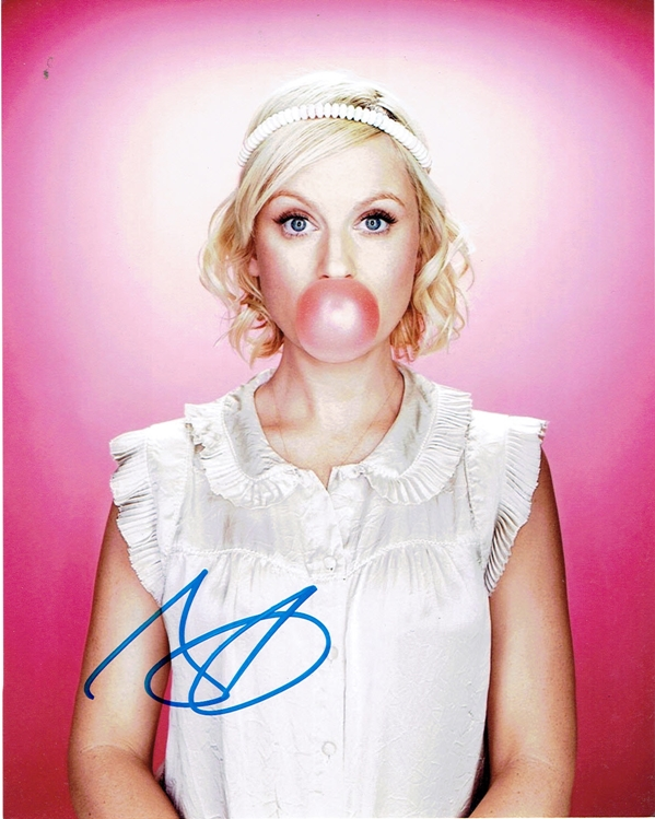 Amy Poehler Signed Photo