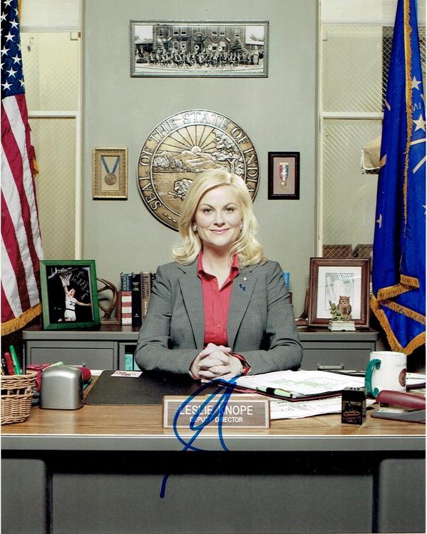Amy Poehler Signed Photo