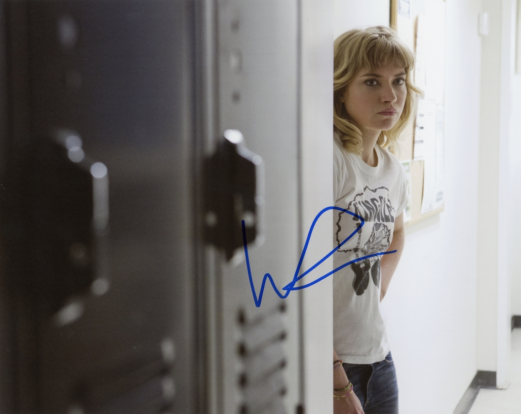 Imogen Poots Signed Photo