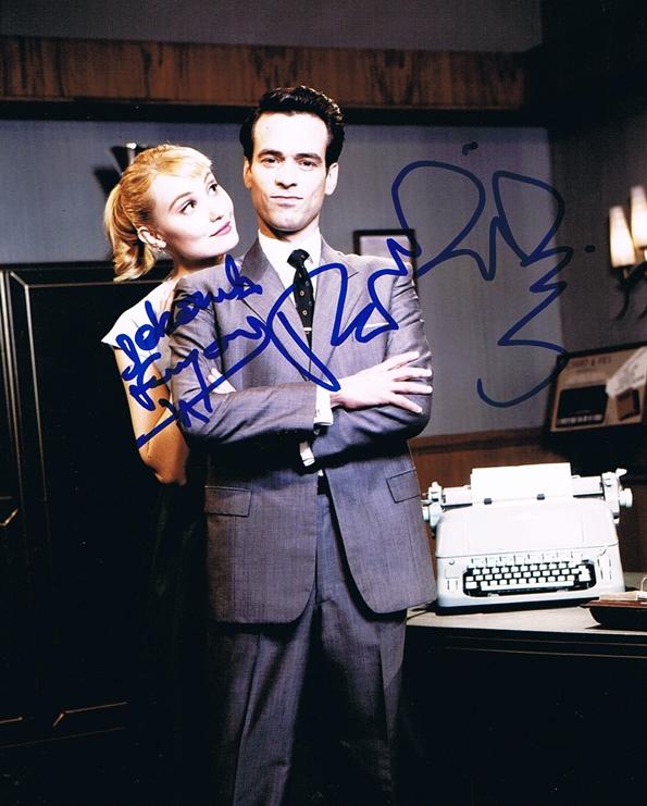Deborah Francois & Romain Duris Signed Photo