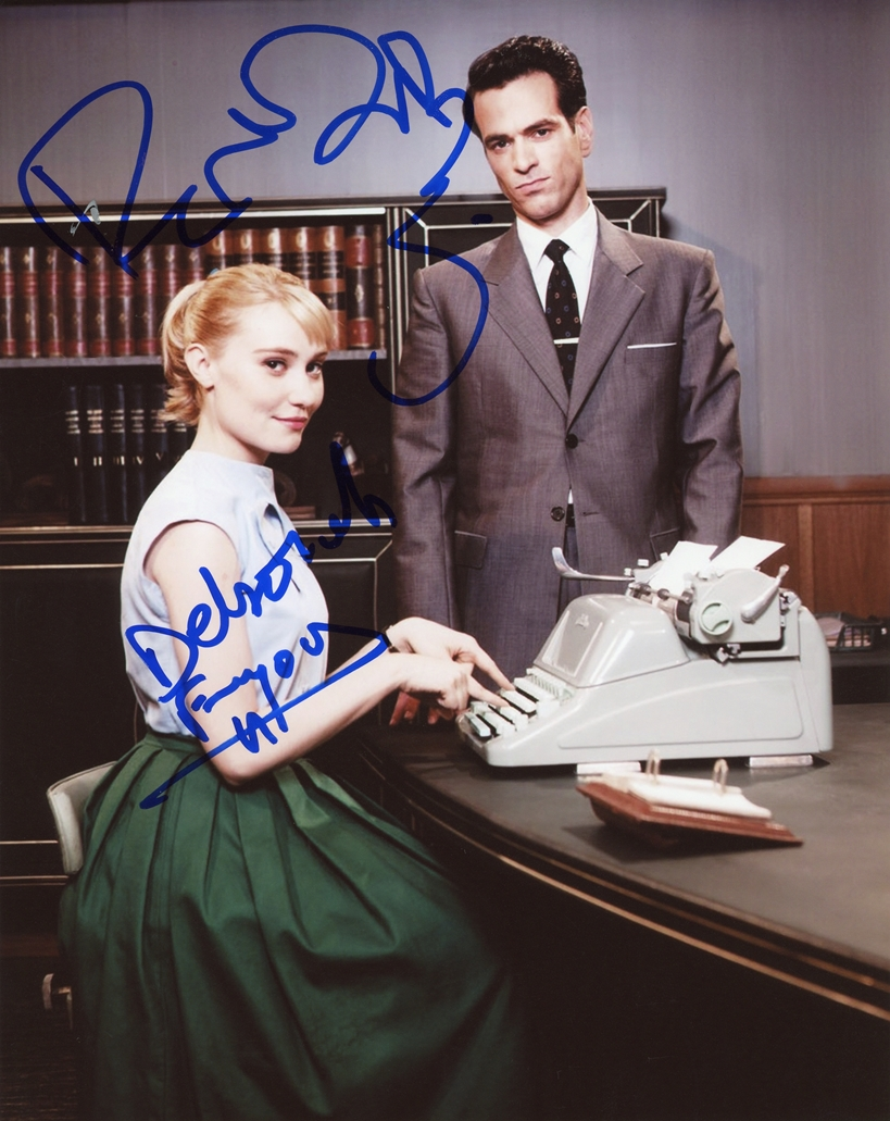 Deborah Francois & Romain Duris Signed Photo