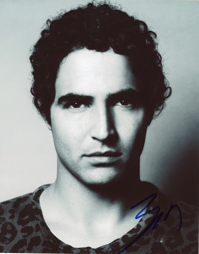 Zac Posen Signed Photo