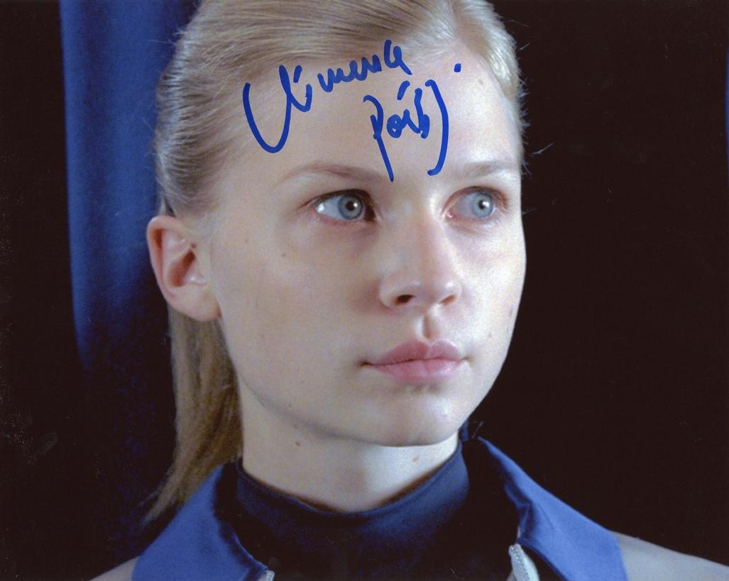 Clemence Poesy Signed Photo