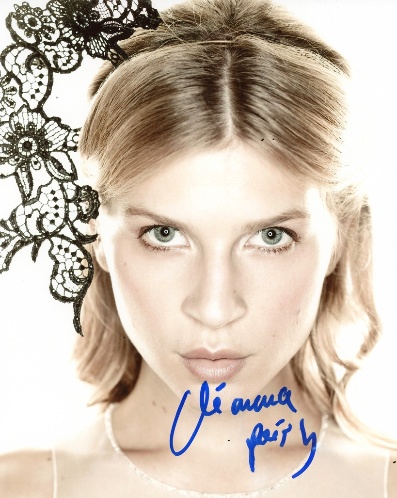 Clemence Poesy Signed Photo
