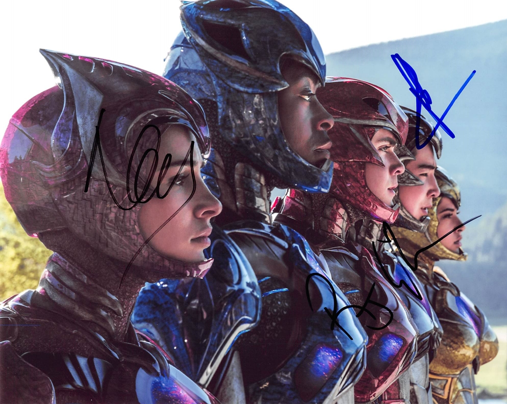 Power Rangers Signed Photo