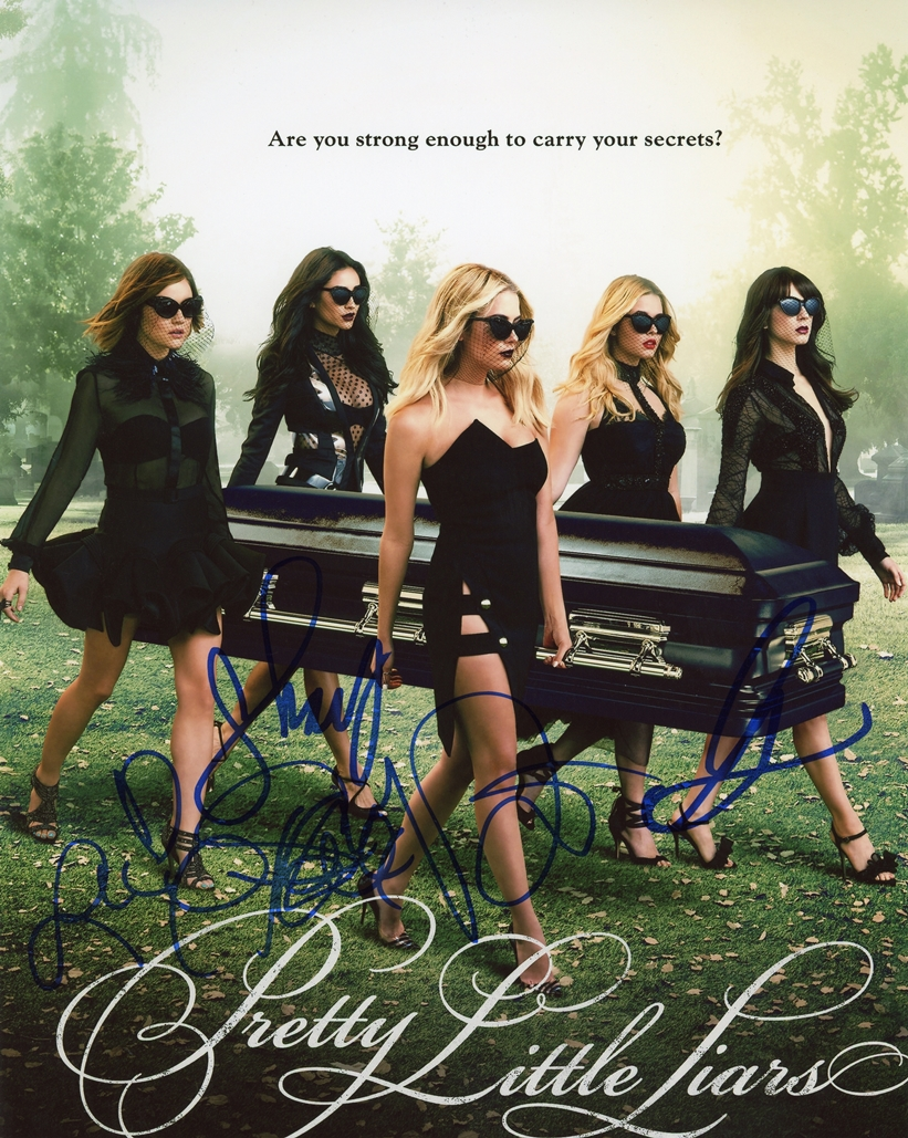 Pretty Little Liars Signed Photo