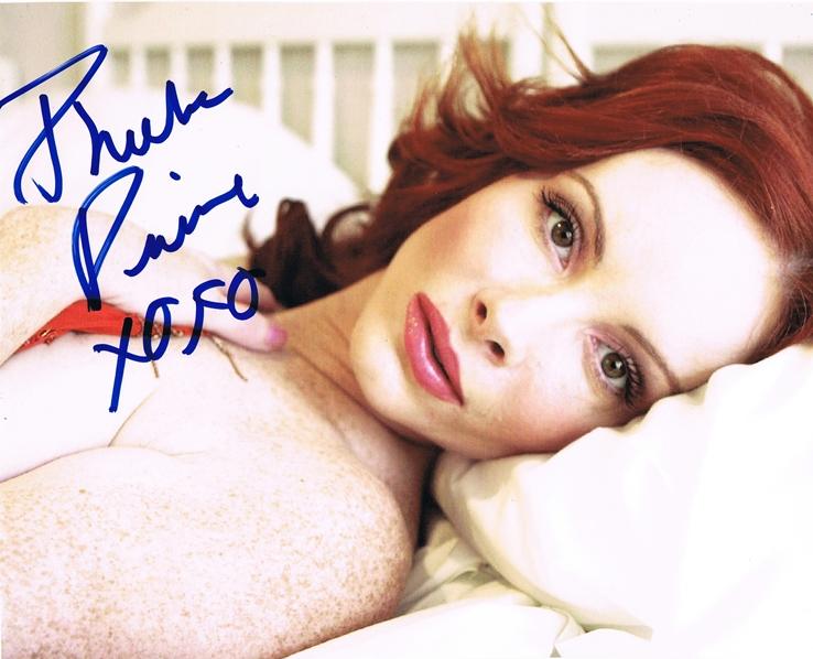 Phoebe Price Signed Photo