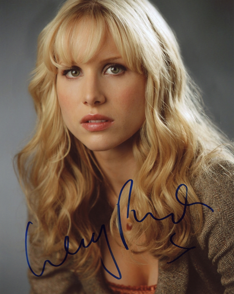 Lucy Punch Signed Photo