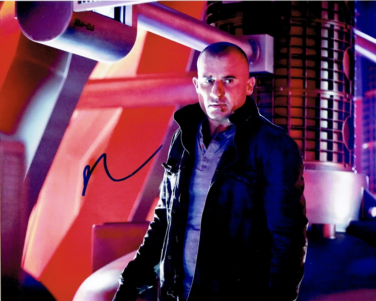 Dominic Purcell Signed Photo