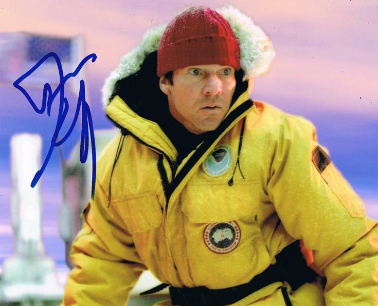 Dennis Quaid Signed Photo