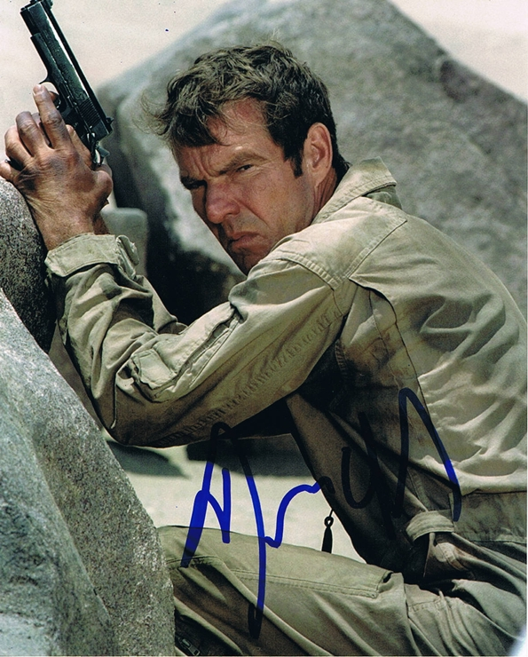 Dennis Quaid Signed Photo