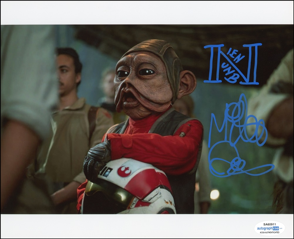 Mike Quinn Signed Photo