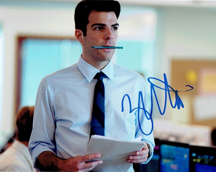 Zachary Quinto Signed Photo