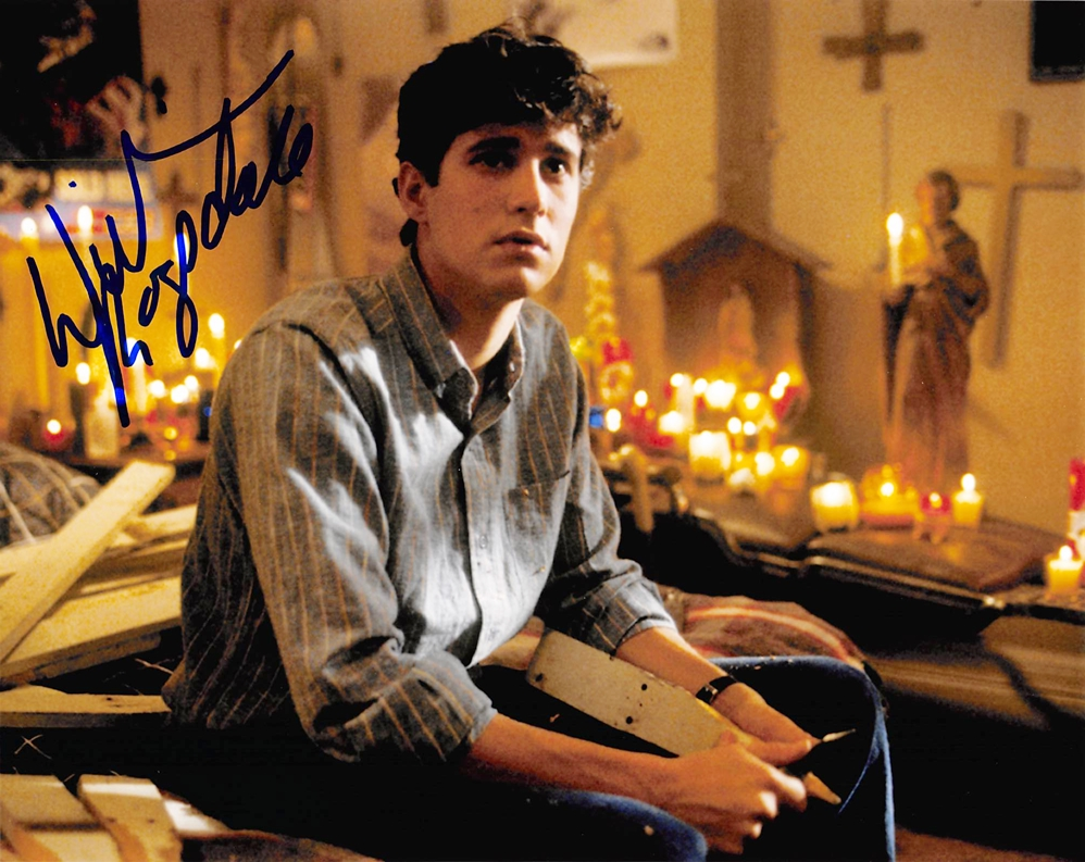 William Ragsdale Signed Photo