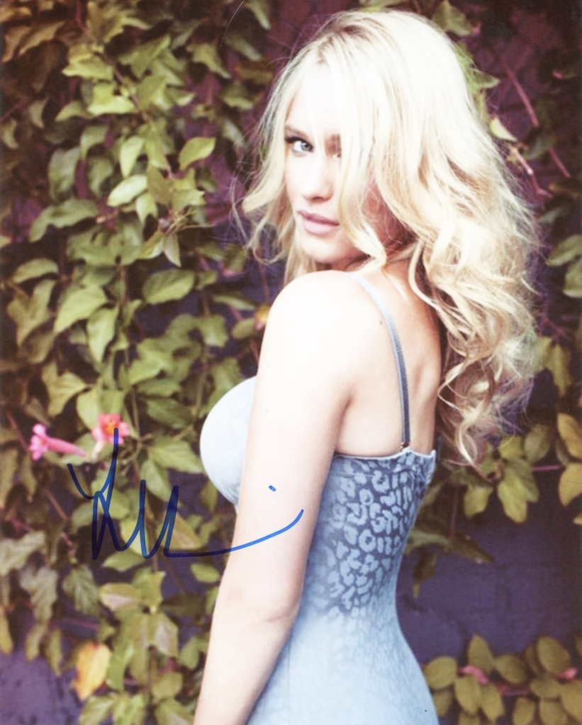 Leven Rambin Signed Photo