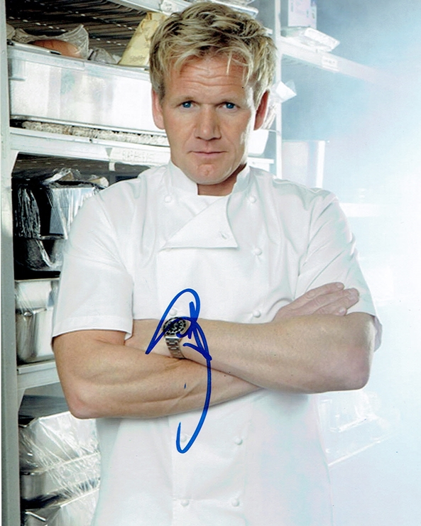 Gordon Ramsay Signed Photo