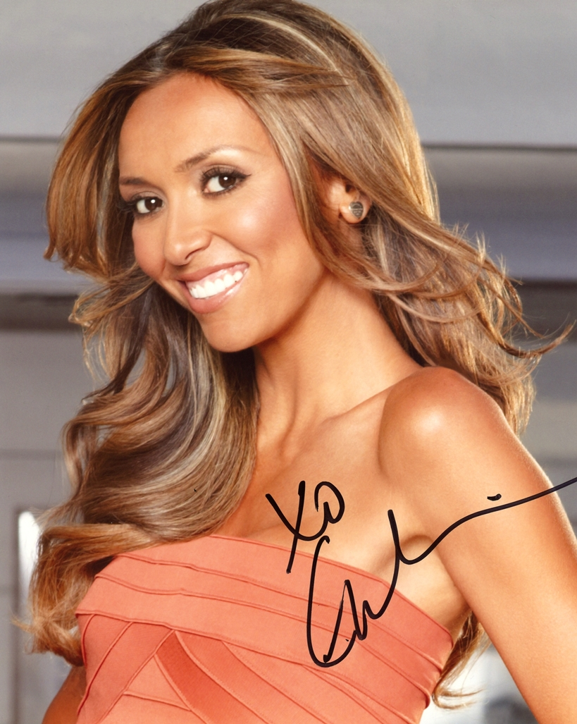 Giuliana Rancic Signed Photo