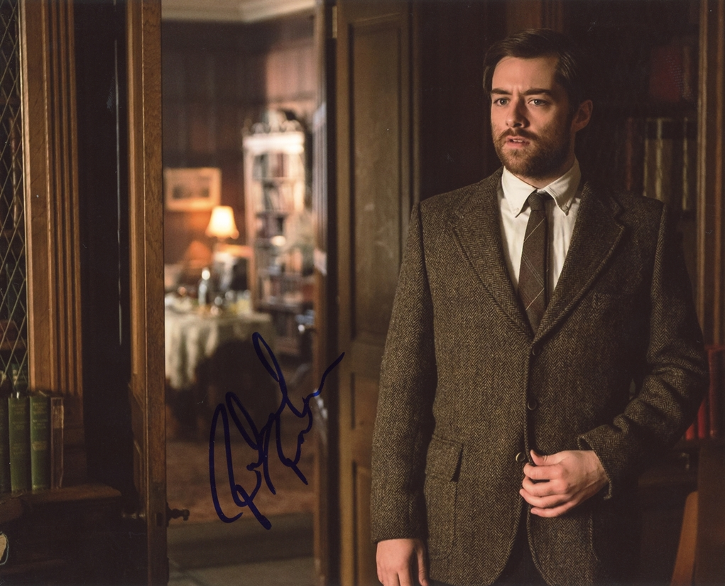 Richard Rankin Signed Photo
