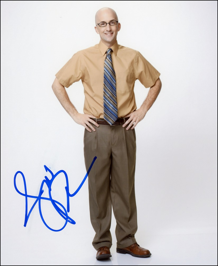 Jim Rash Signed Photo