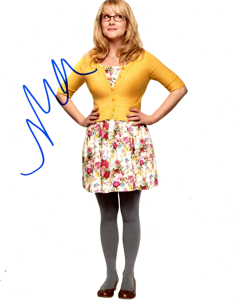 Melissa Rauch Signed Photo