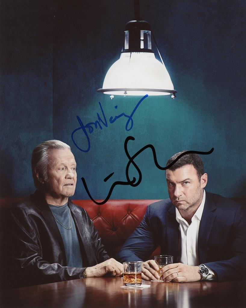 Liev Schreiber & Jon Voight Signed Photo