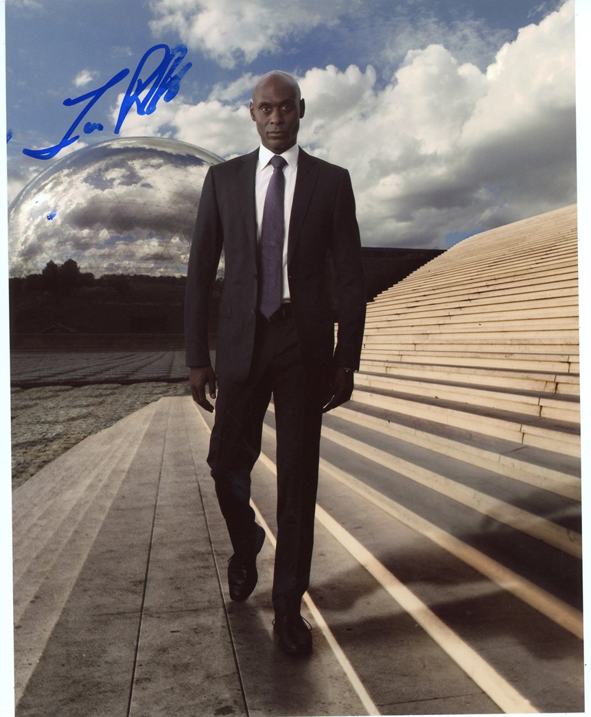 Lance Reddick Signed Photo
