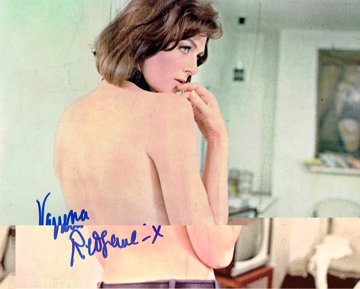 Vanessa Redgrave Signed Photo