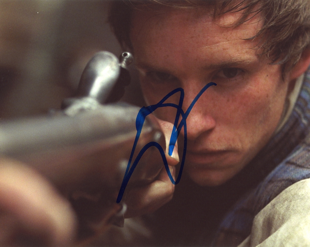 Eddie Redmayne Signed Photo