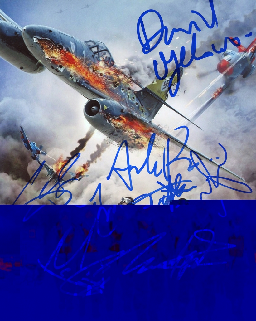 Red Tails Signed Photo