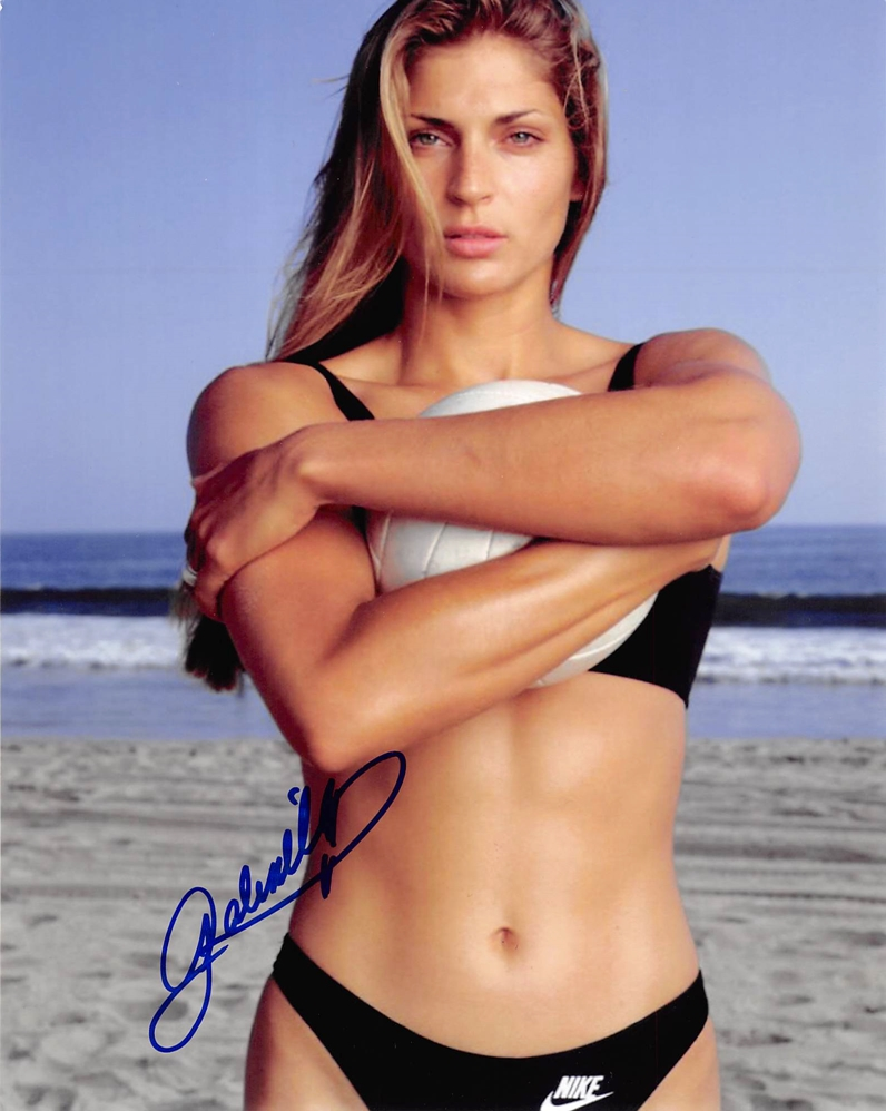 Gabrielle Reece Signed Photo