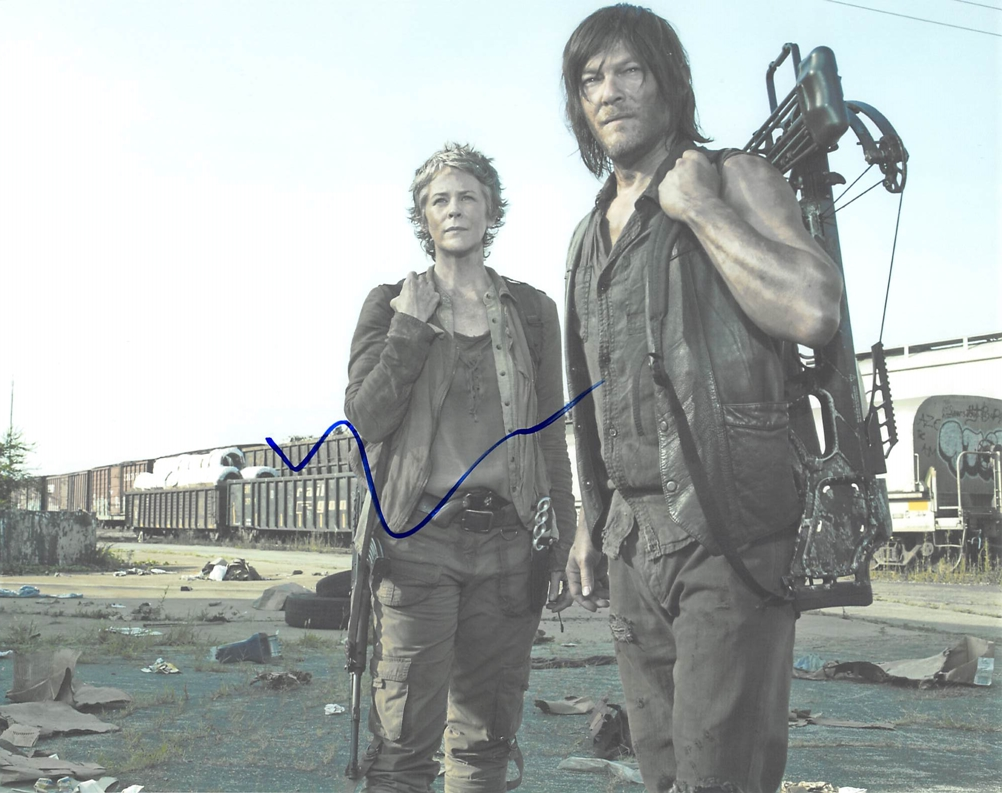 Norman Reedus Signed Photo