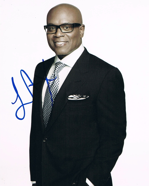L.A. Reid Signed Photo