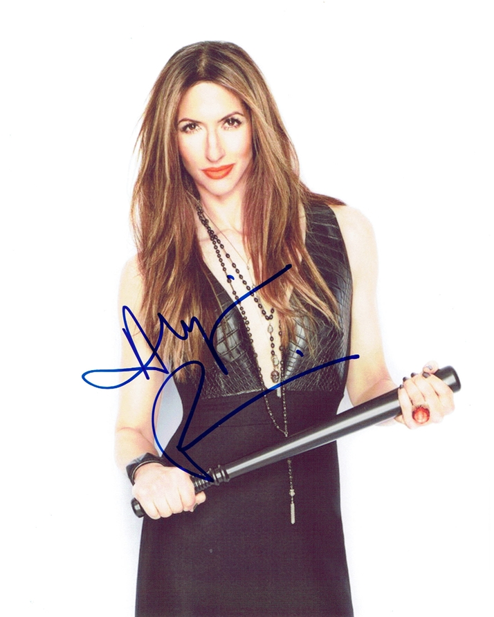 Alysia Reiner Signed Photo